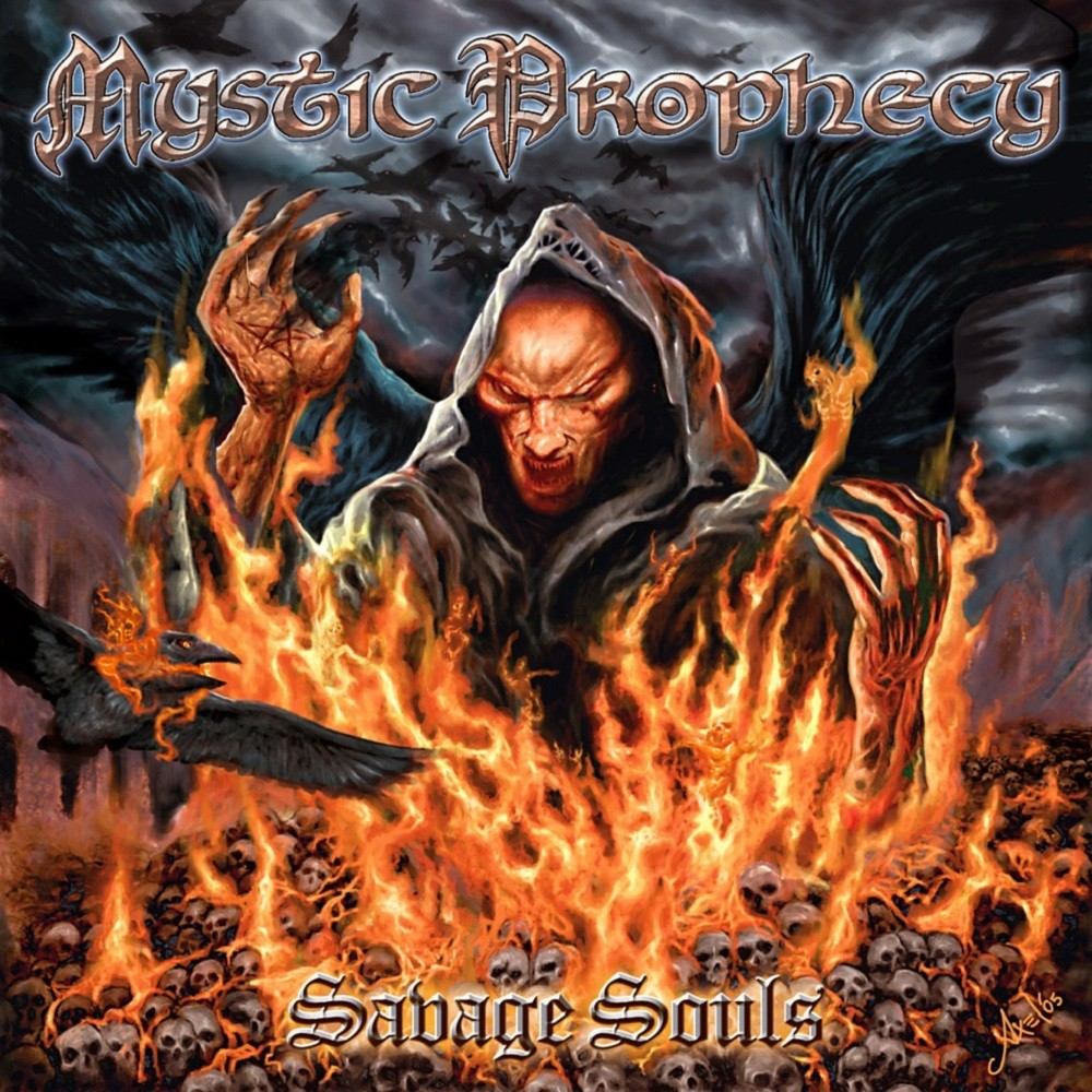 Mystic Prophecy - Savage Souls (2006) Cover