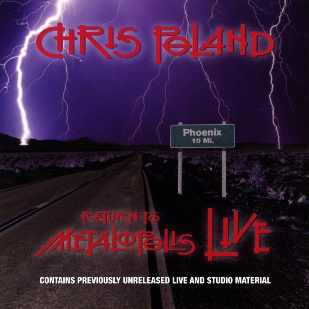 Chris Poland - Return to Metalopolis - Live (2007) Cover