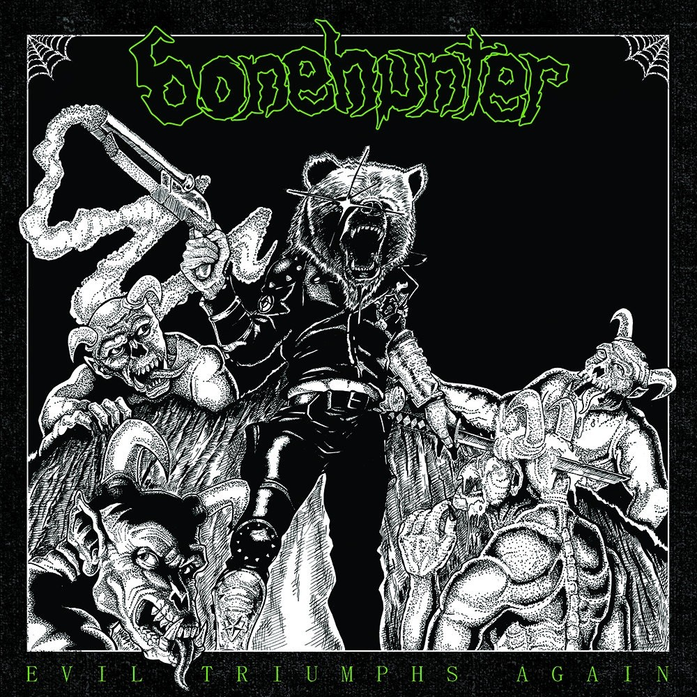 Bonehunter - Evil Triumphs Again (2015) Cover
