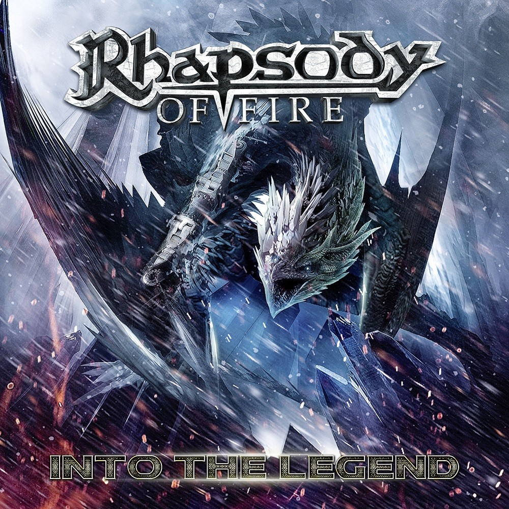 Rhapsody - Into the Legend (2016) Cover