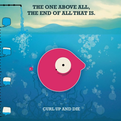 Curl Up and Die - The One Above All, the End of All That Is 2005