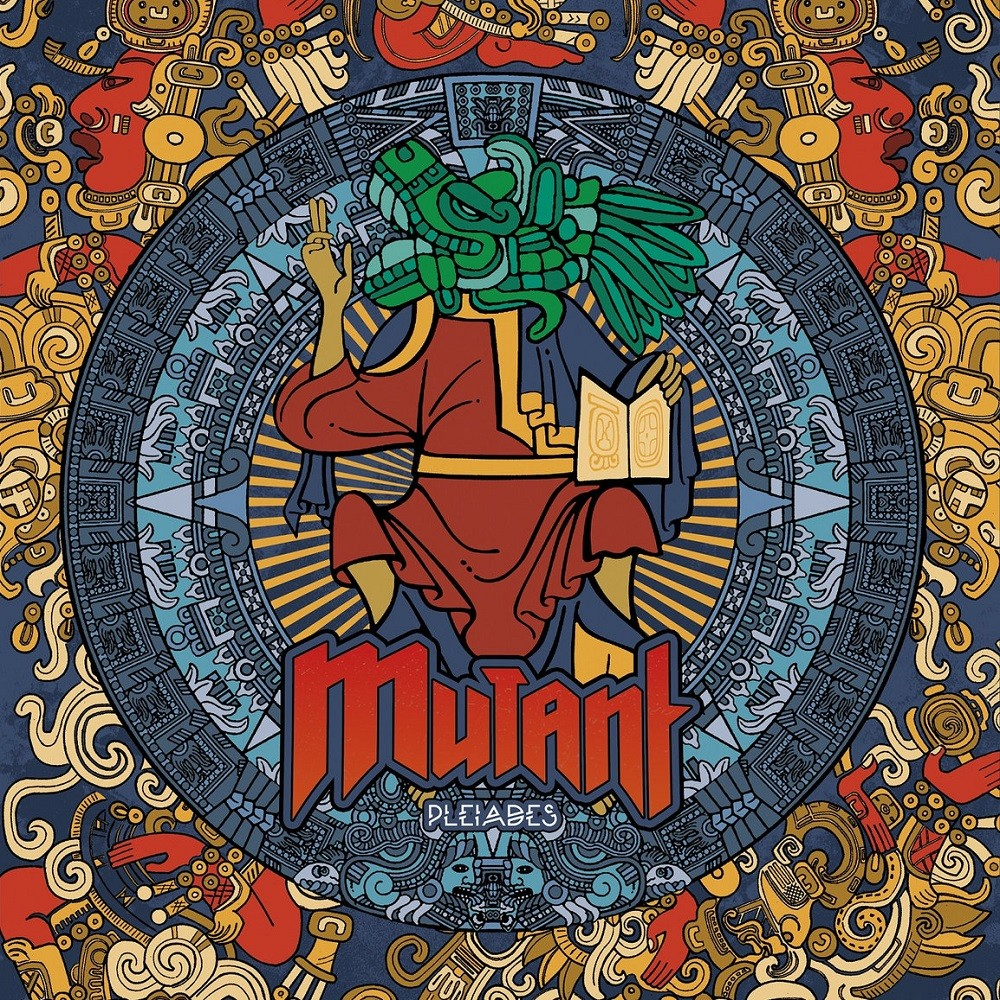 Mutant Squad - Pleiades (2016) Cover