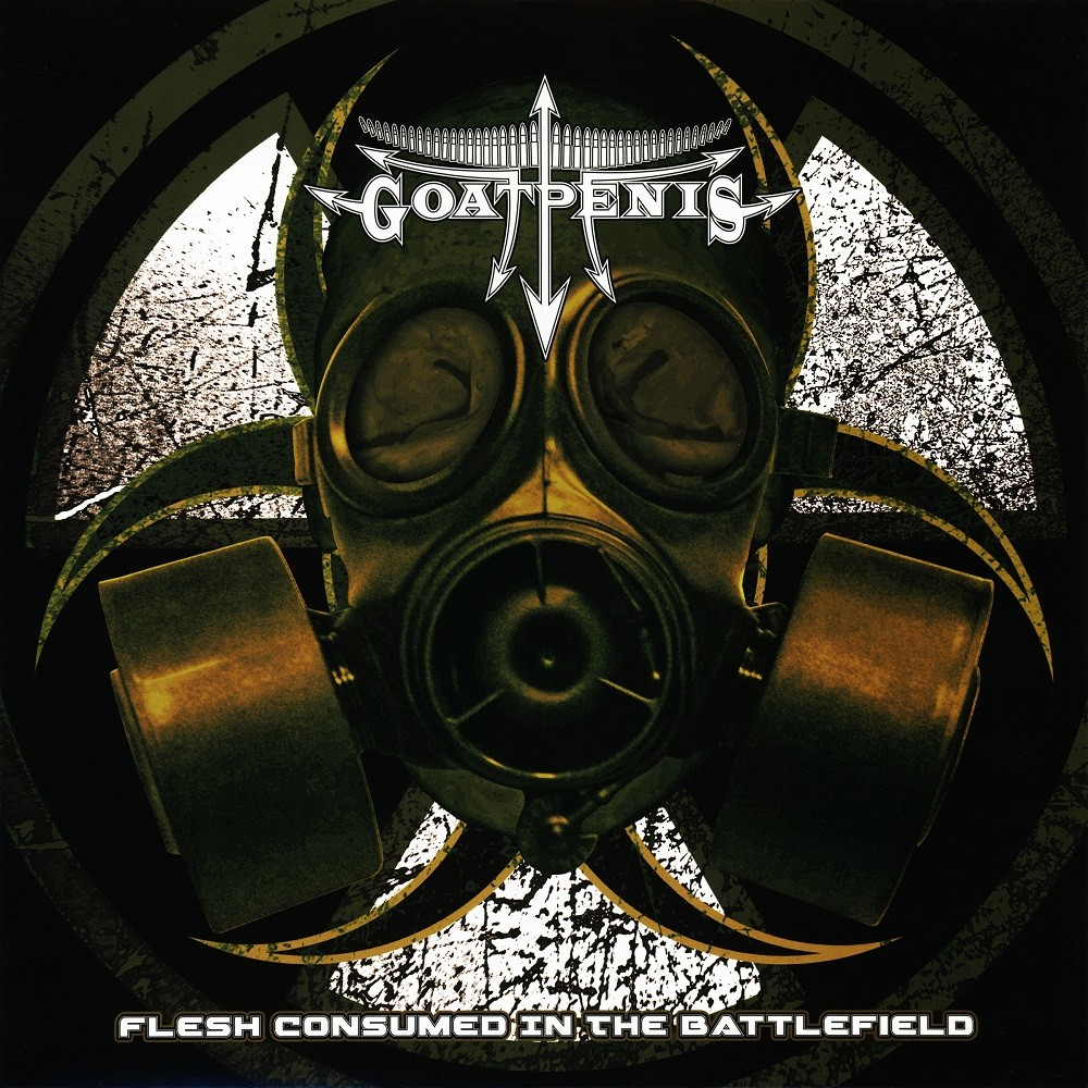 Goatpenis - Flesh Consumed in the Battlefield (2014) Cover