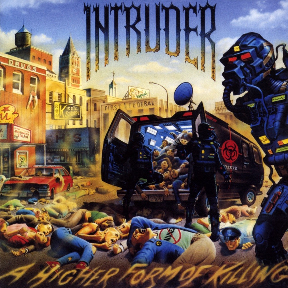 Intruder - A Higher Form of Killing (1989) Cover