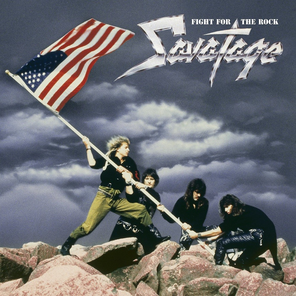 Savatage - Fight for the Rock (1986) Cover