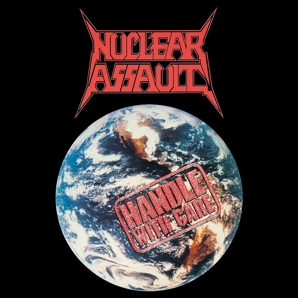 Nuclear Assault - Handle With Care (1989) Cover