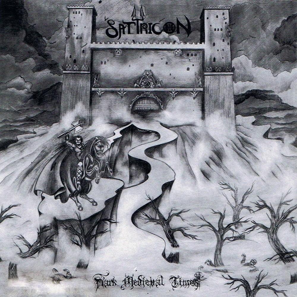Satyricon - Dark Medieval Times (1994) Cover