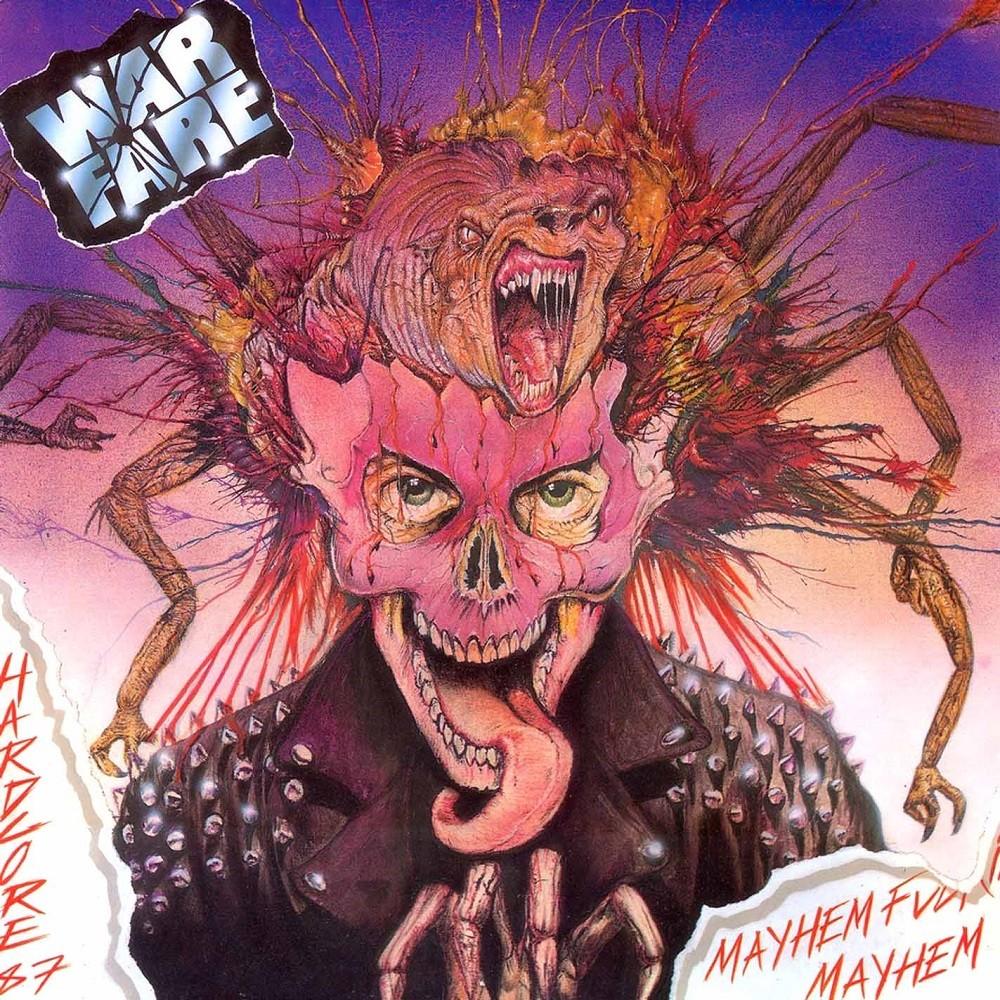 Warfare - Mayhem Fucking Mayhem (1987) Cover