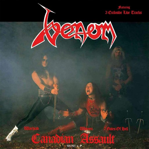 Venom - Canadian Assault 1985