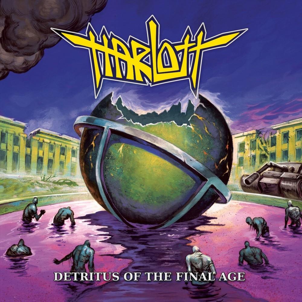 Harlott - Detritus of the Final Age (2020) Cover