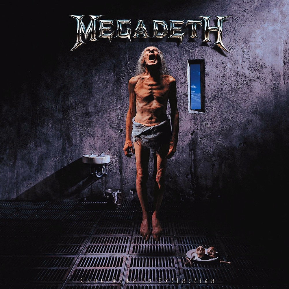 Megadeth - Countdown to Extinction (1992) Cover