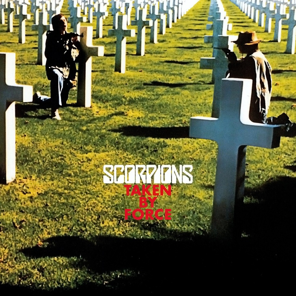 Scorpions - Taken by Force (1978) Cover