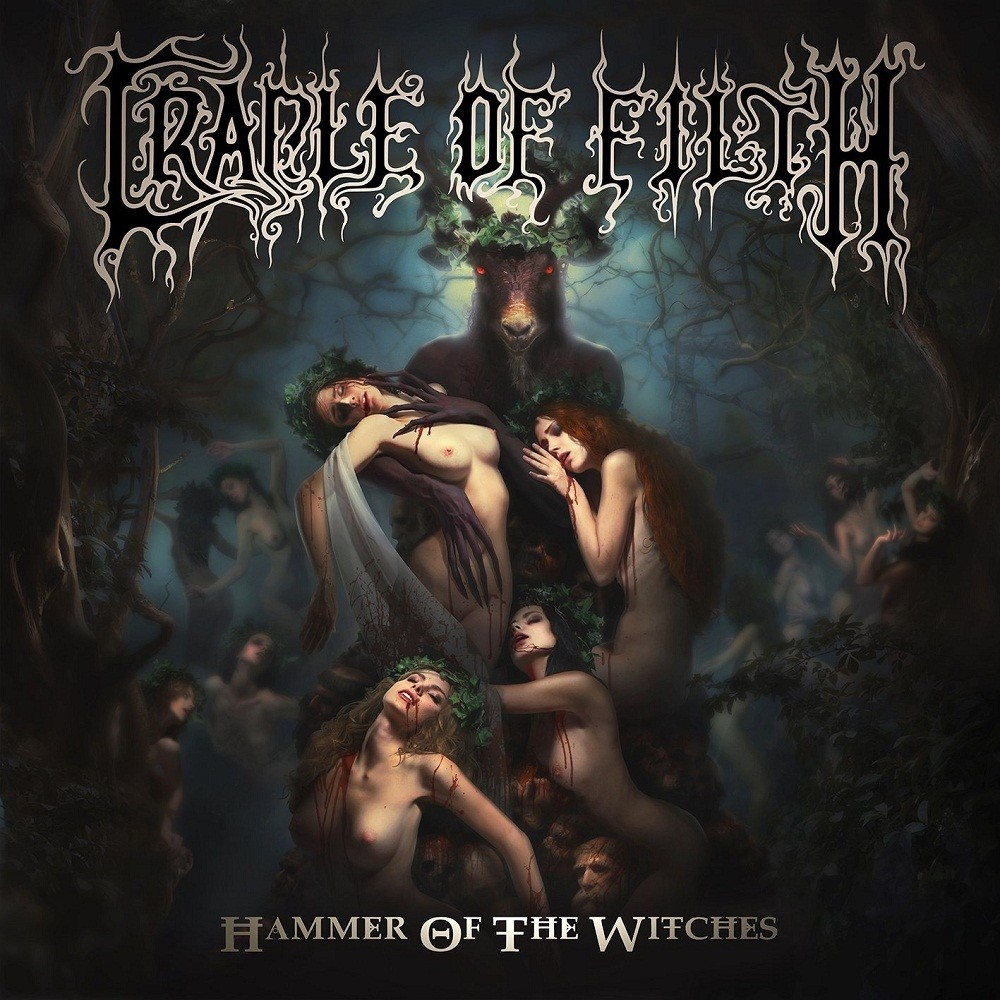 Cradle of Filth - Hammer of the Witches (2015) Cover